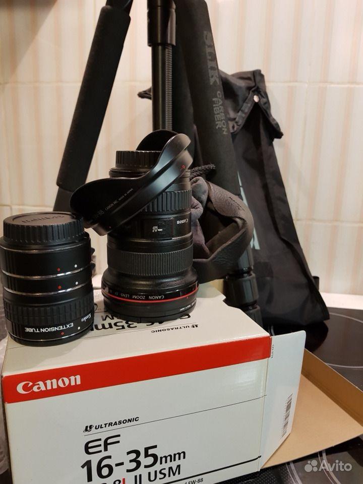 Объектив canon 16-35mm f 2.8L II USM.  Санкт-Петербург