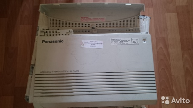 Panasonic kx-ta308- 616 - инструкции по монтажу, программированию