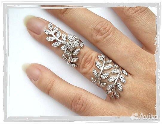 Модные серебряные кольца купить