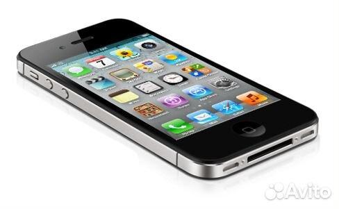 Мобильный телефон Apple iPhone 4S 32Gb (черный