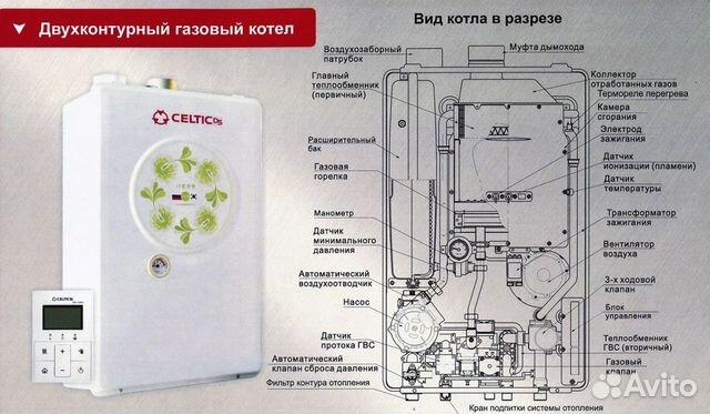 Цена на вторичный теплообменник на котел селтик теплообменник мп 50