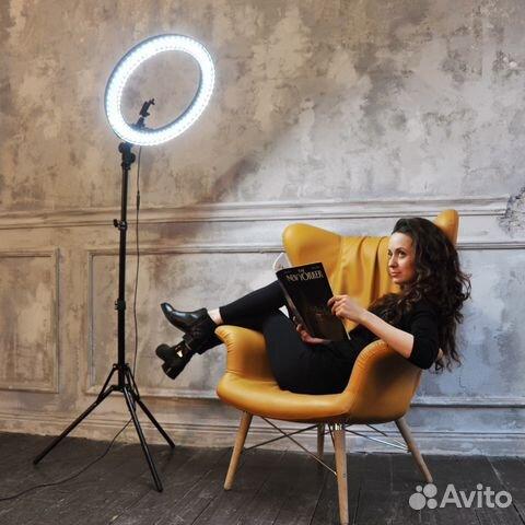 Кольцевая лампа для визажиста цена