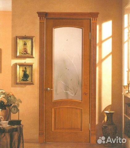 Ремонт двери со стеклом