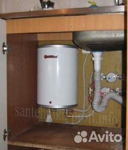 Монтаж водонагревателя под мойкой