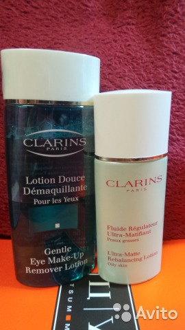 Clarins gentle eye makeup remover lotion
