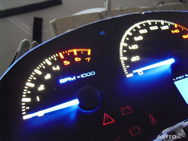 Фото №31 - панель приборов приора в ВАЗ 2110