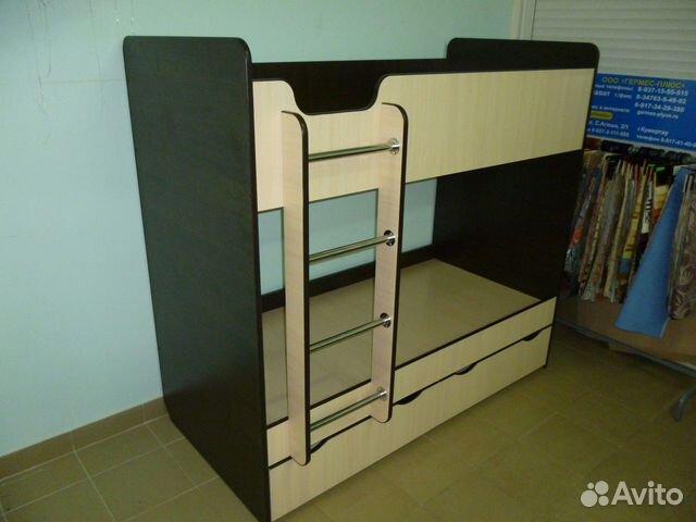 Двухъярусная кровать из мдф своими руками 109