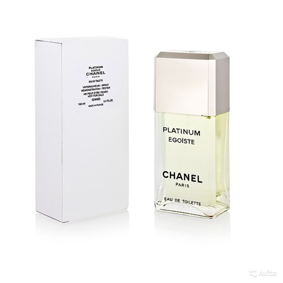 Chanel egoiste platinum 100 мл. tester.
