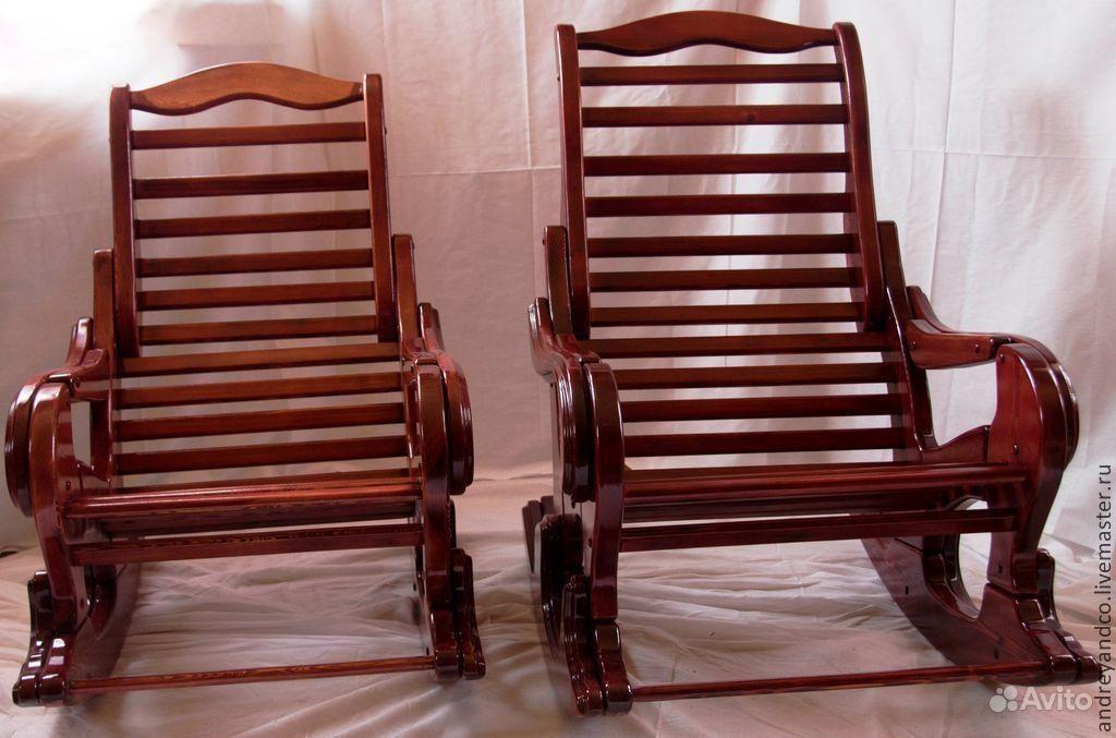 деревянное кресло качалка Festimaru мониторинг объявлений