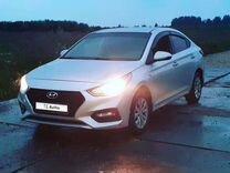 Hyundai Solaris, 2017, с пробегом, цена 400 000 руб.