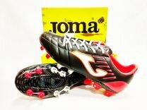 Футбольные бутсы из натуральной кожи. Joma FIT-100 2cbdb8fd7f298