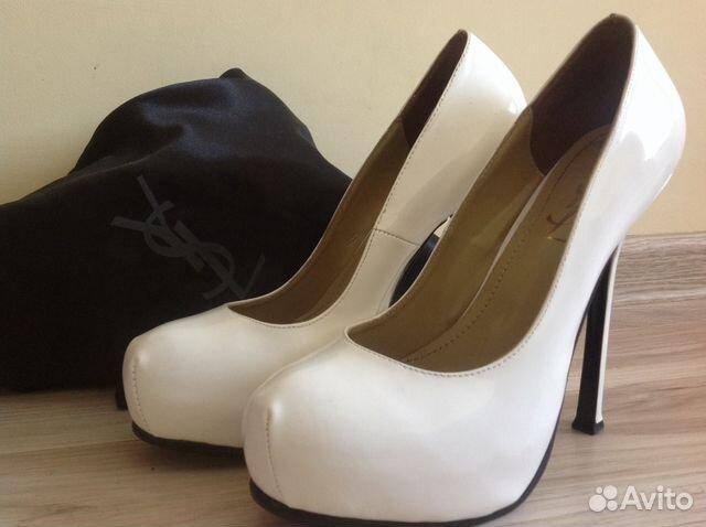 Белые туфли Yves Saint Laurent купить в Краснодарском крае на ...