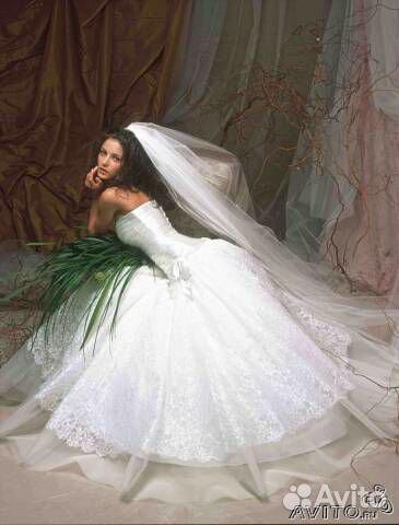 Свадебные  с горного хрусталя