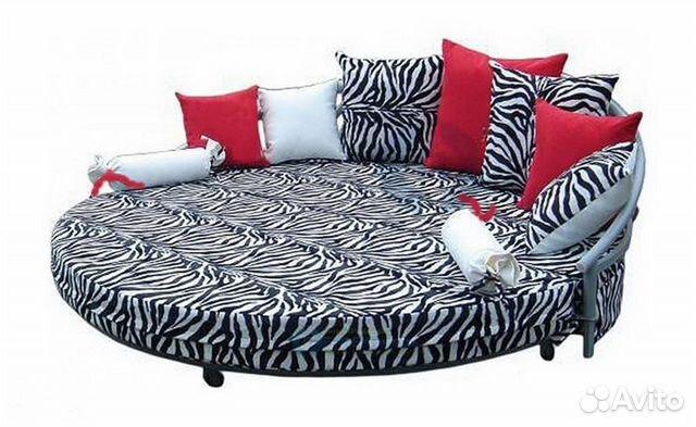 круглый диван кровать диана доставка гарантия купить в москве на