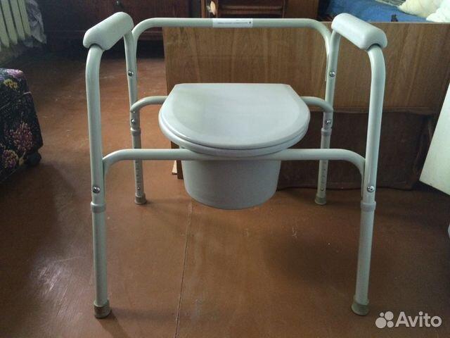 Кресло туалет б/у