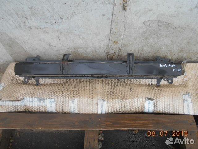 усилитель переднего бампера skoda felicia