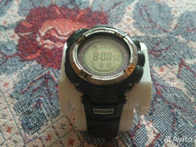 Часы Casio Pro Trek PRW-1500T-7V PRW-1500T-7VER купить