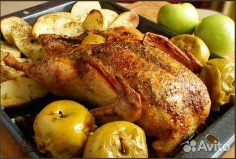 Рецепт утки яблоками духовке фото