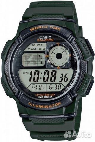 346598cd Casio Illuminator AE-1000W-3A   Festima.Ru - Мониторинг объявлений