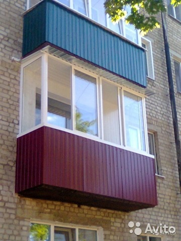 Услуги - балконы окна отделка в брянской области предложение.