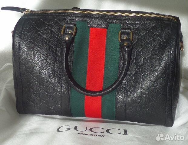 Как отличить от подделки фирменную сумку Gucci - Портал