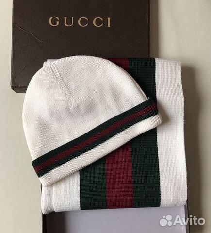 Gucci оригинал шапка шарф   Festima.Ru - Мониторинг объявлений 3c588daf0f5