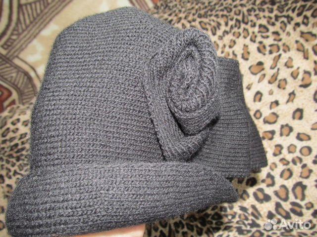 Шляпка вязаная новая 89273730108 купить 1