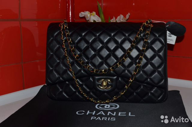 1835c0f0e199 Сумка Chanel Flap Jumbo 30 Шанель Кожа   Festima.Ru - Мониторинг ...