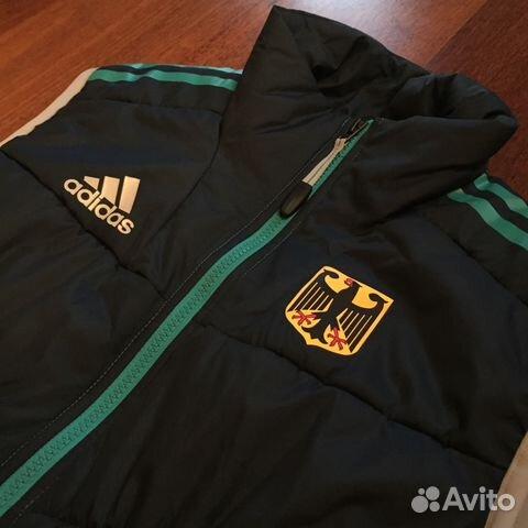 aa12fb23 Женская теплая жилетка adidas Сборной Германии GER купить в Москве ...
