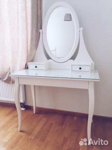 туалетный столик икеа хэмнес Hemnes Festimaru мониторинг объявлений