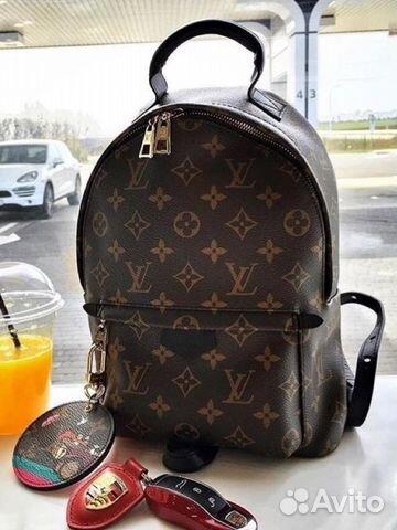 716a0836bd08 Рюкзак luv Louis Vuitton mini— фотография №1. Адрес: Санкт-Петербург ...