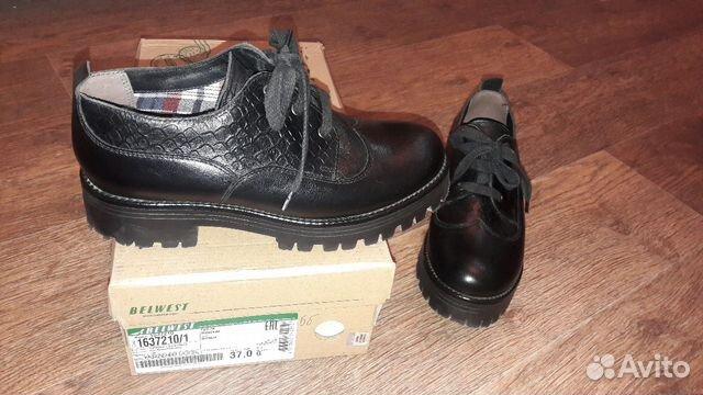 Ботинки (туфли) belwest 37 размер 89132721450 купить 4