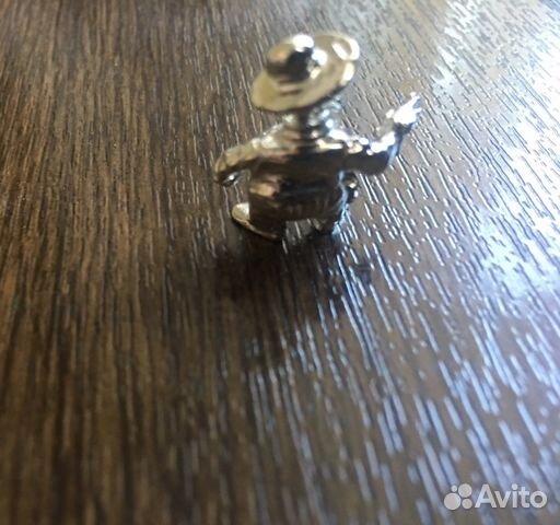 Статуэтка серебрянная «ковбой» 89084690007 купить 3