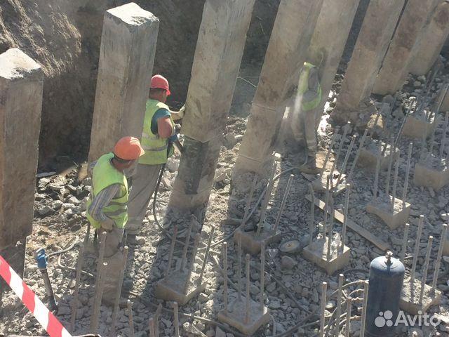 Демонтаж бетона цена москва бетон в сваях