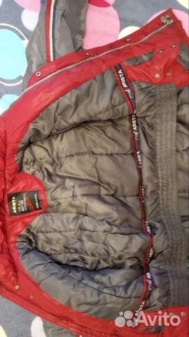 Зимняя куртка, рост 134  89024781634 купить 2