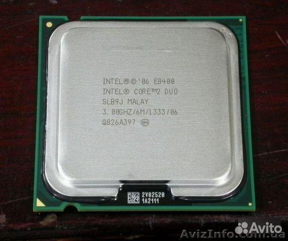 intel core 2 duo e8400 цена