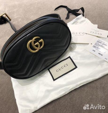 bf8d81584f78 Поясная сумка Gucci Marmont оригинал