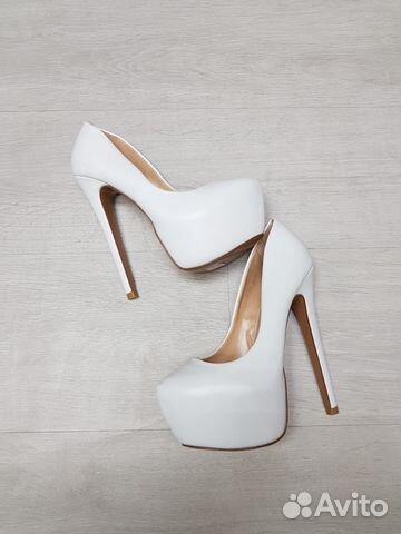 ca363710b Белые туфли на высоком каблуке 35-40 купить в Москве на Avito ...