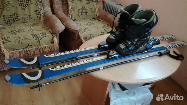 Лыжи + лыжные ботинки Salomon 180см купить в Краснодарском крае на ... 33cc92be47f