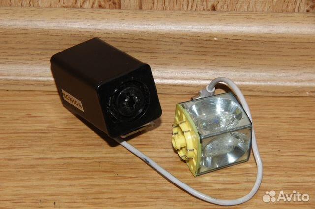 Винтажная вспышка Konica на магниевых кубиках 89052471031 купить 4