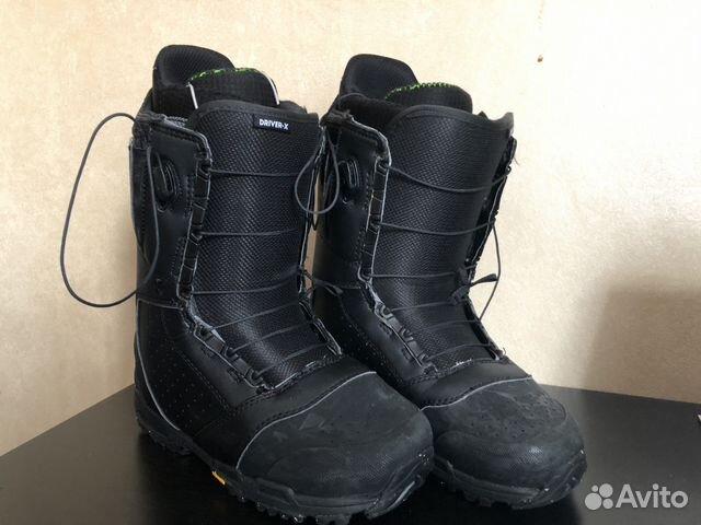 Ботинки для сноуборда Burton Driver X 8US 7UK 41 купить в Москве на ... 866800241a8