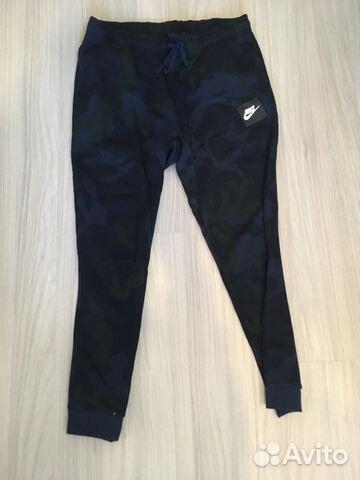 3a1e92ab Штаны спортивные Nike камуфляжные купить в Санкт-Петербурге на Avito ...