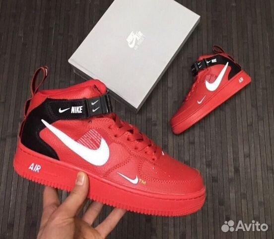 9e362aab Кроссовки мужские Nike Air Force 1red   Festima.Ru - Мониторинг ...