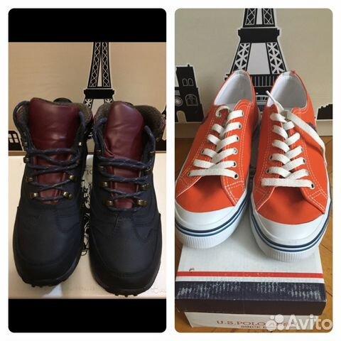 10fce790e78d Обувь U.S.Polo купить в Москве на Avito — Объявления на сайте Авито