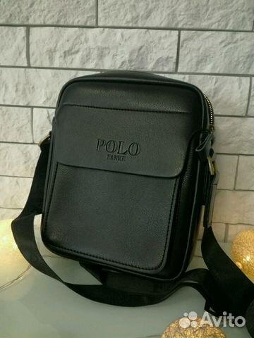 4e87942dd9c6 Мужские сумки polo в наличии черные/коричневые купить в Самарской ...