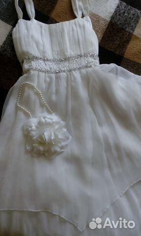f8aface1d16 Нарядное бальное выпускное платье 135-150 Monsoon
