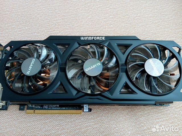 Видеокарта gigabyte AMD Radeon R9 280X купить в Республике