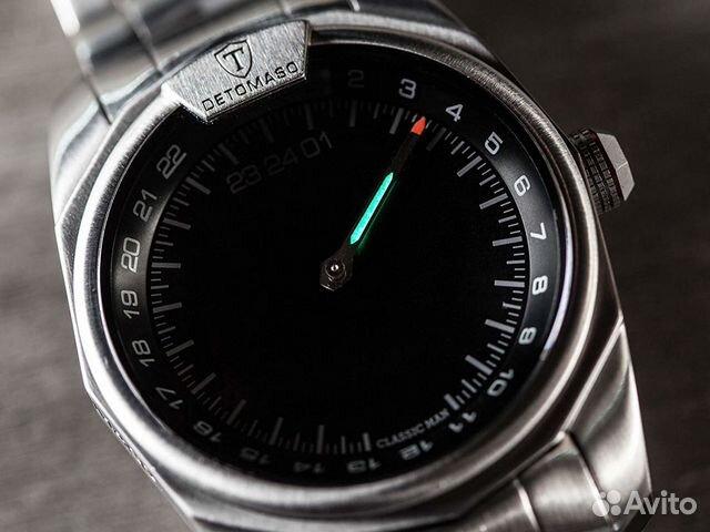 b6f5a5471e5057 Часы с одной стрелкой 24 ч detomaso classic купить в Омской области ...