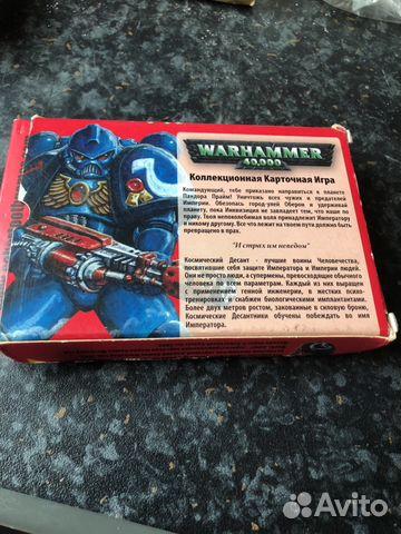 warhammer 40000 карточная игра