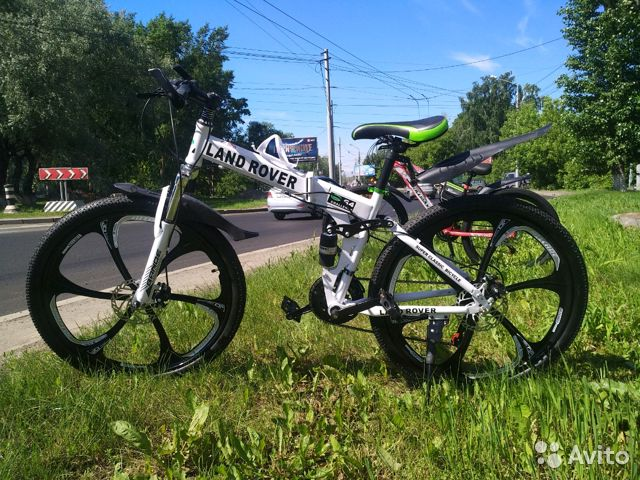 89527559801 Велосипед на литых дисках,новый